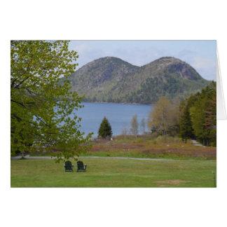 Jordan Pond, Acadia National Park Card