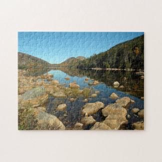 Jordan Pond Jigsaw Puzzle
