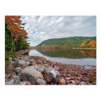 Jordan Pond of Acadia National Park Postcard