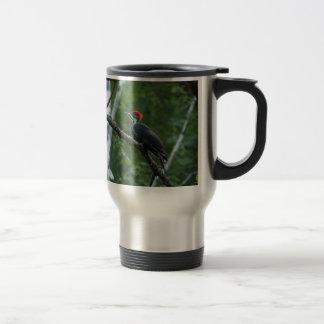 Jordan Pond Pileated Woodpecker. Travel Mug