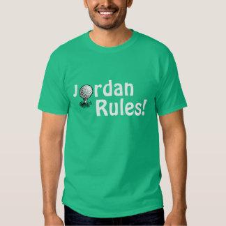 Jordan Rules! T-shirts