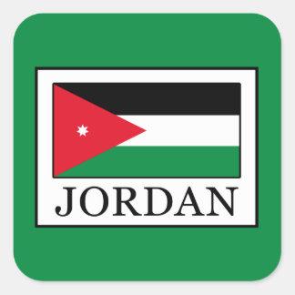 Jordan Square Sticker