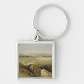 Jordan Valley, from Volume II of 'The Holy Land' Key Ring