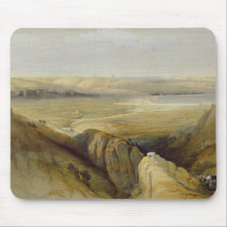 Jordan Valley, from Volume II of 'The Holy Land' Mouse Mat