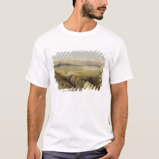 Jordan Valley, from Volume II of 'The Holy Land' T-Shirt