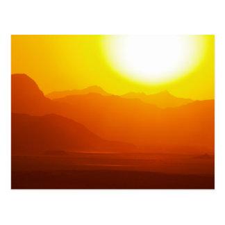 Jordan Wadi Rum Desert Postcard