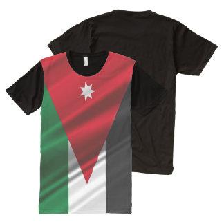 Jordan waving Flag All-Over Print T-Shirt