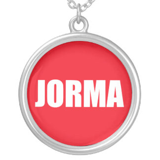 Jorma Round Pendant Necklace