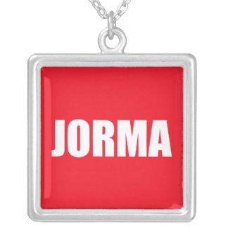 Jorma Square Pendant Necklace