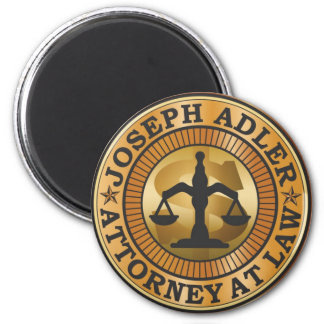 Joseph Adler Attorney at Law mike judge extract 6 Cm Round Magnet