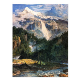 Joseph Anton Koch, Schmadribach Wasserfall, 1822 Postcards