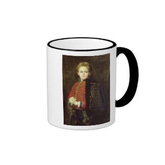 Joseph Bara  as a Young Man Ringer Coffee Mug