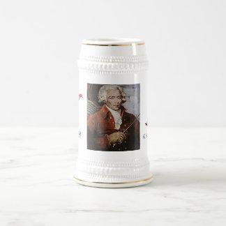 JOSEPH BOULOGNE CHEVALIER de SAINT-GEORGE Beer Steins