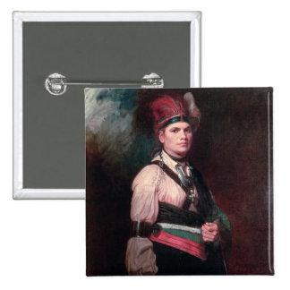 Joseph Brant, Chief of the Mohawks, 1742-1807 Pin