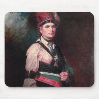 Joseph Brant, Chief of the Mohawks, 1742-1807 Mouse Pad