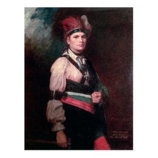 Joseph Brant, Chief of the Mohawks, 1742-1807 Postcard