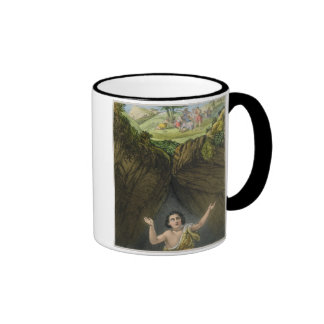 Joseph Cast into the Pit by his Brethren, from a b Coffee Mugs
