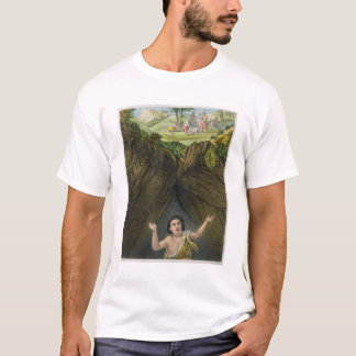 Joseph Cast into the Pit by his Brethren, from a b T-Shirt