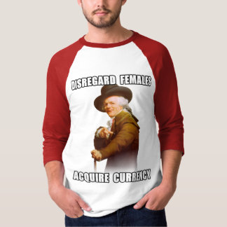 Joseph Ducreux Acquire Currency T-shirts