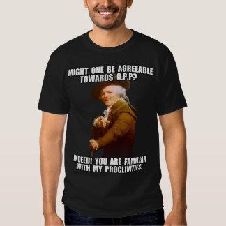 Joseph Ducreux Archiaic Rap OPP Tee Shirts