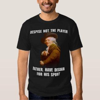 Joseph Ducreux Player Disdain Tees