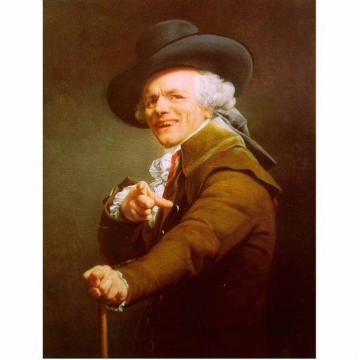 Joseph Ducreux Self Portrait Cut Outs