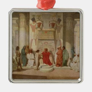 Joseph Explaining Pharaoh's Dreams Christmas Ornament