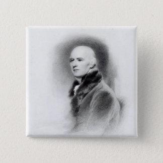 Joseph Farington, engraved by Richard Evans 15 Cm Square Badge