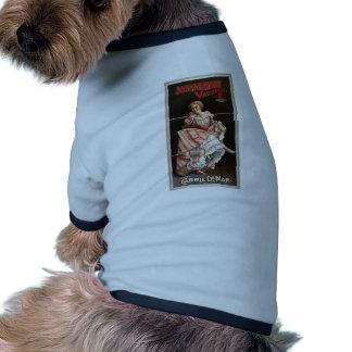 Joseph Hart Vaudeville, 'Clever Carrie Demar' Dog T Shirt