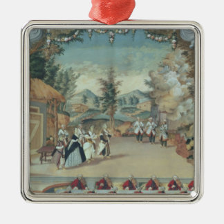 Joseph Haydn at first performance of his opera Christmas Ornament