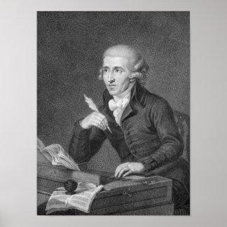 Joseph Haydn  engraved by Schiavonnetti, 1792 Print