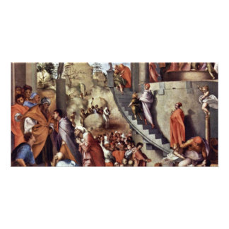 Joseph In Egypt By Pontormo Jacopo Picture Card