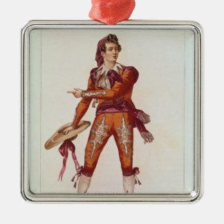 Joseph Isidore Samson  in the role of Figaro Christmas Ornament