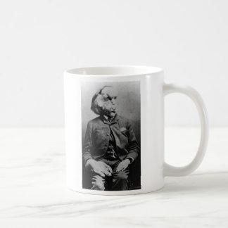 """Joseph """"John"""" Merrick The Elephant Man from 1889 Basic White Mug"""