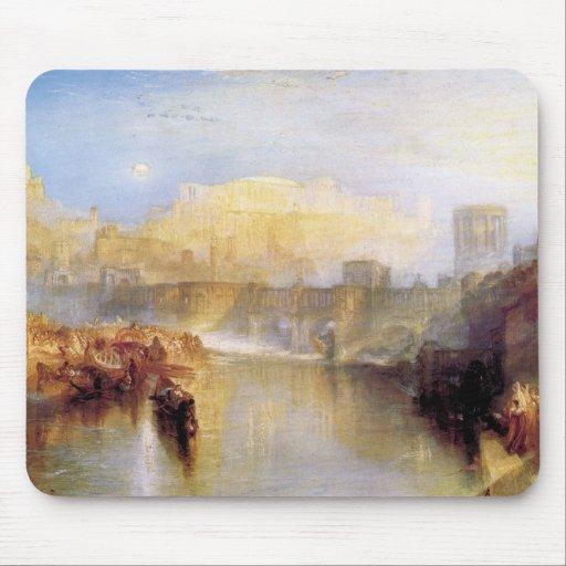 Joseph Mallord Turner - Ancient Rome; Agrippina la Mousepads