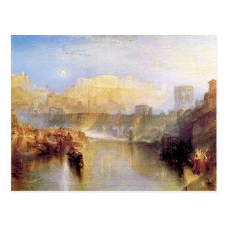 Joseph Mallord Turner - Ancient Rome Agrippina la Postcard