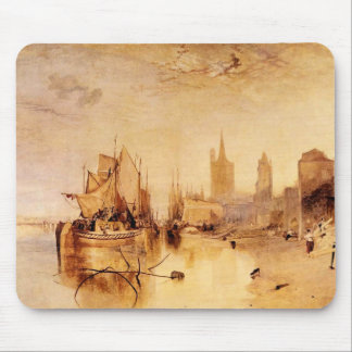 Joseph Mallord Turner - Arrival of boat Cologne Mousepads