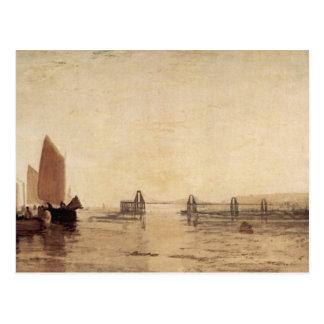 Joseph Mallord Turner - Chain pier Brighton Postcard
