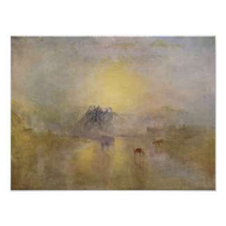 Joseph Mallord Turner - Norham Castle Posters