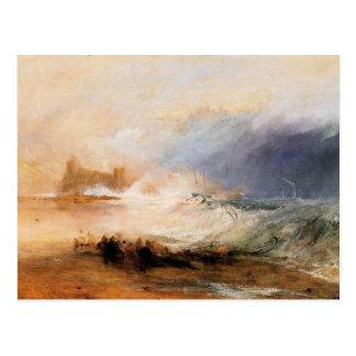 Joseph Mallord Turner - Northumberland shore Postcard