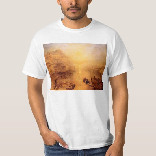 Joseph Mallord Turner - Old Italy - Ovid banished T-Shirt
