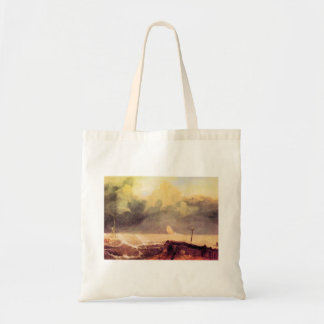 Joseph Mallord Turner - Port Ruysdael Canvas Bags