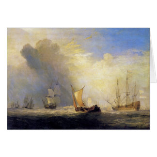 Joseph Mallord Turner - Rotterdam Ferry Boats Card