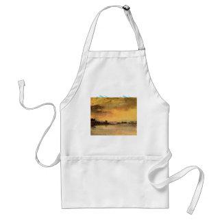 Joseph Mallord Turner - Sunrise on the river Aprons