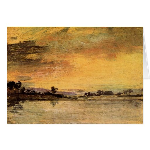 Joseph Mallord Turner - Sunrise on the river Cards