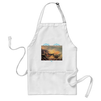 Joseph Mallord Turner - Wreck of a transport ship Adult Apron