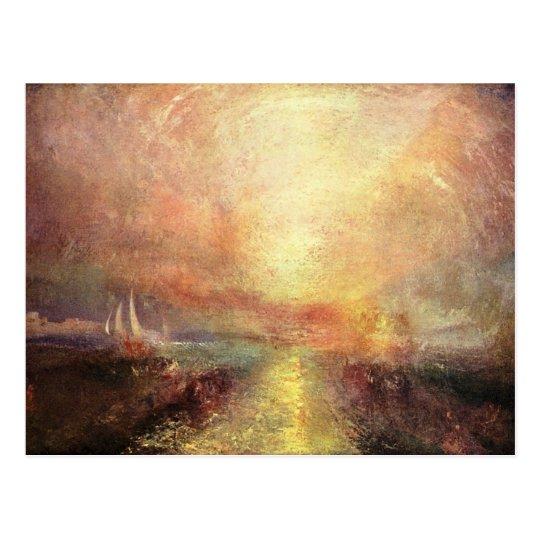Joseph Mallord Turner - Yacht approaching the coas