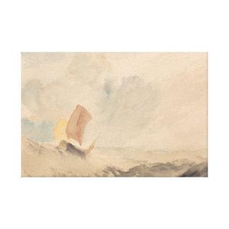 Joseph Mallord William Turner - A Sea Piece Canvas Prints