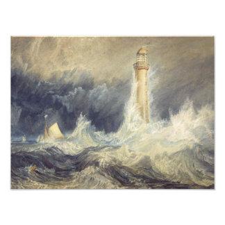 Joseph Mallord William Turner - Bell Rock Photo Art