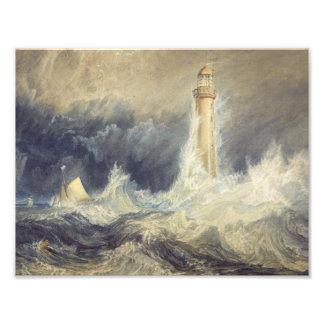 Joseph Mallord William Turner - Bell Rock Photographic Print